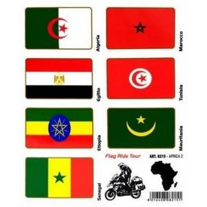 Αυτοκόλλητα AFRICA 2 σετ 7 τεμ.
