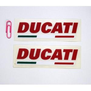 Αυτοκόλλητα Ducati και σημαία Slim 10 εκ.