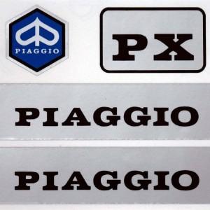 Αυτοκόλλητα Σετ Piaggio 12 x 10 εκ.