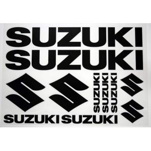 Αυτοκόλλητα Suzuki 30 x 35 εκ. μαύρα