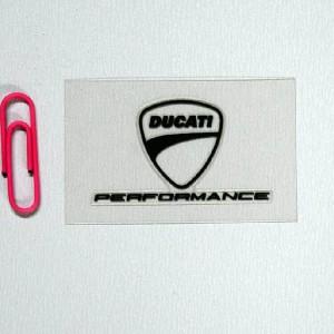 Αυτοκόλλητο Ducati Performance διάφανο