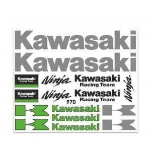 Αυτοκόλλητα Kawasaki 25 X 35 CM.