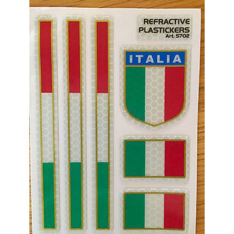 Ανακλαστικά αυτοκόλλητα QTR Ιταλίας (σετ)