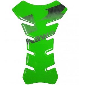 Tankpad QTR Kawasaki πράσινο με logo