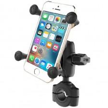 Ολοκληρωμένη Universal βάση κινητού X-Grip με κοντό πλαστικό βραχίονα