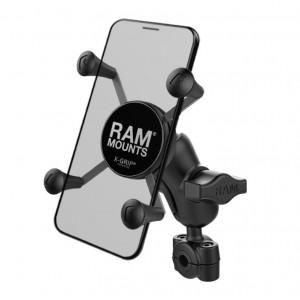 Ολοκληρωμένη Universal βάση κινητού X-Grip με κοντό βραχίονα για μπαράκι τιμονιού