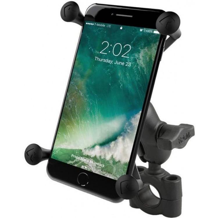 Ολοκληρωμένη Universal βάση κινητού μεγάλη X-Grip με κοντό βραχίονα