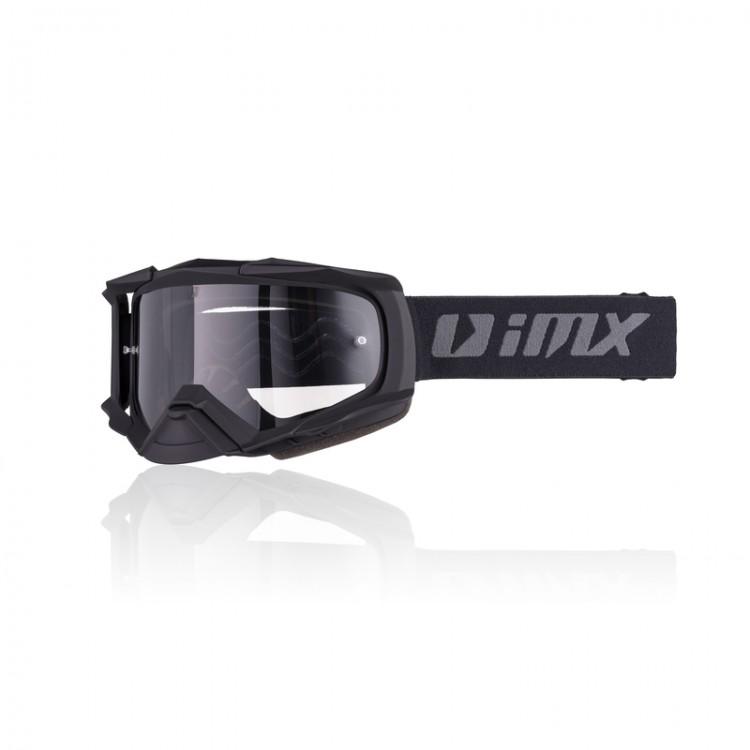 Μάσκα Enduro/Motocross iMX Racing Dust μαύρο ματ