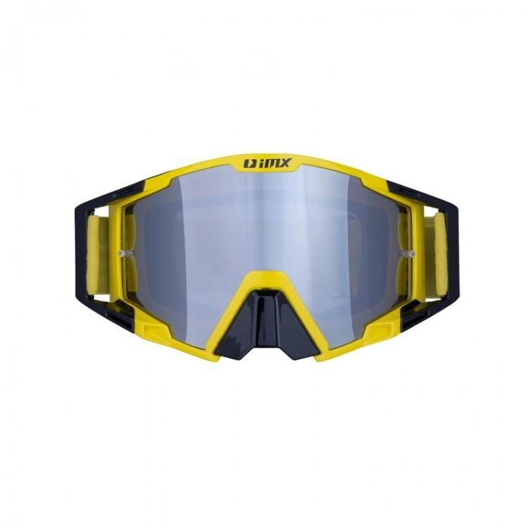 Μάσκα Enduro/Motocross iMX Racing Sand μαύρο-κίτρινο