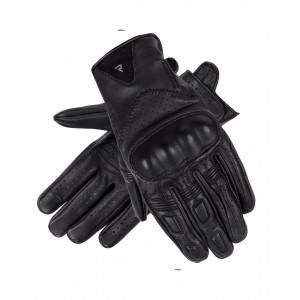 Γάντια Rebelhorn Thug II Perforated καλοκαιρινά μαύρα