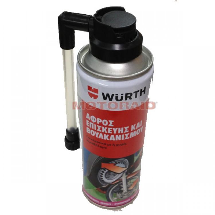 Αφρός επισκευής ελαστικών Wurth 200ml