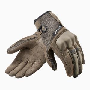 Γάντια RevIT Volcano καλοκαιρινά καφέ-μαύρα