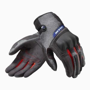 Γάντια RevIT Volcano καλοκαιρινά μαύρα-γκρι