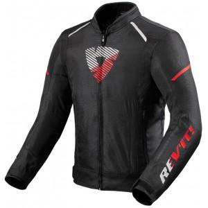 Μπουφάν RevIT Sprint H2O μαύρο-neon κόκκινο