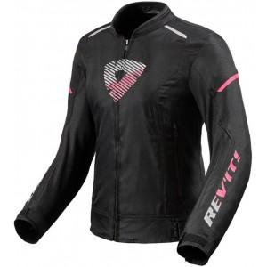 Μπουφάν RevIT Sprint H2O γυναικείο μαύρο-ροζ