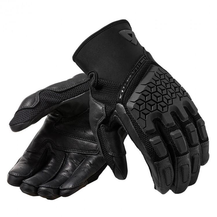 Γάντια RevIT Caliber καλοκαιρινά μαύρα