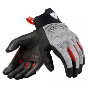 Γάντια RevIT Kinetic καλοκαιρινά ανοιχτό γκρι-μαύρα