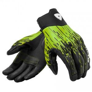 Γάντια RevIT Spectrum καλοκαιρινά μαύρα-neon κίτρινο