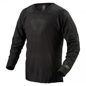 Μπλούζα Enduro/MX RevIT Flow μαύρη