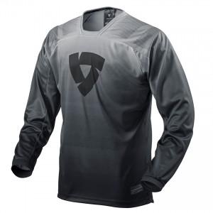 Μπλούζα Enduro/MX RevIT Scramble μαύρη-άσπρη