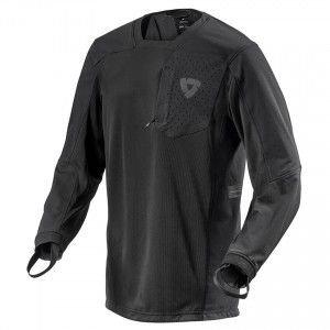 Μπλούζα Enduro/MX RevIT Sierra μαύρη