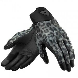 Γάντια RevIT Spectrum καλοκαιρινά γυναικεία λεοπαρ-σκούρο γκρι