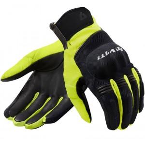 Γάντια RevIT Mosca H2O μαύρα-neon κίτρινο