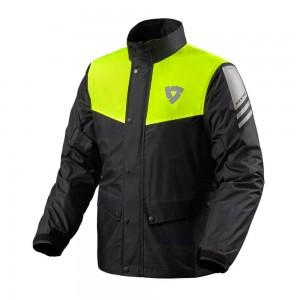 Αδιάβροχο μπουφάν RevIT Nitric 3 H2O μαύρο-neon κίτρινο