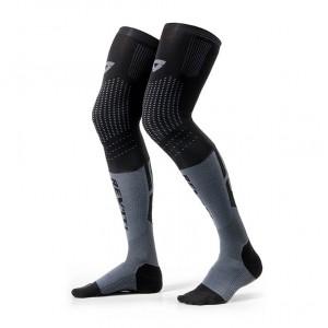 Κάλτσες RevIT Rift πολύ μακριές μαύρες-γκρι