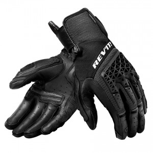 Γάντια RevIT Sand 4 καλοκαιρινά γυναικεία μαύρα