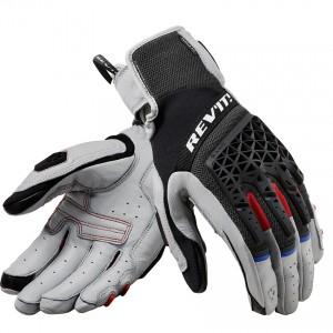 Γάντια RevIT Sand 4 καλοκαιρινά γυναικεία ανοιχτό γκρι-μαύρα