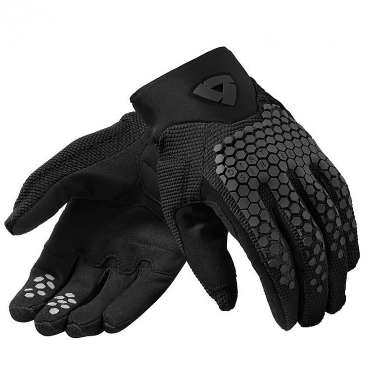Γάντια RevIT Massif καλοκαιρινά μαύρα