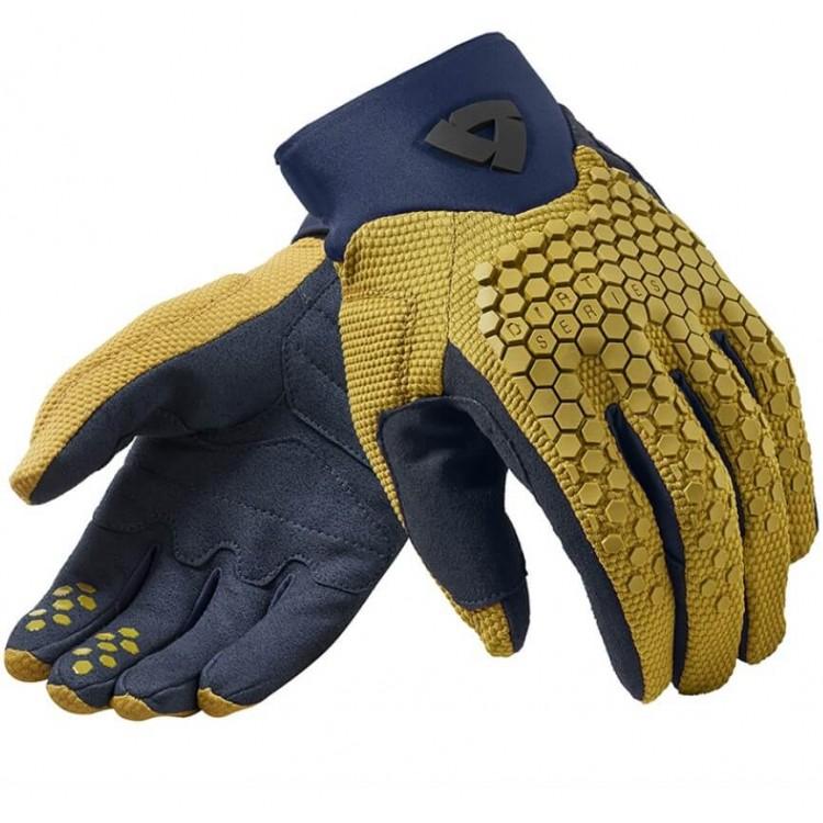 Γάντια RevIT Massif καλοκαιρινά ώχρα κίτρινο