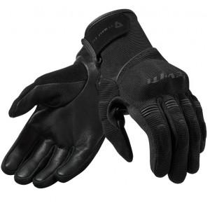 RevIT Mosca ladies καλοκαιρινά γάντια γυναικεία μαύρα