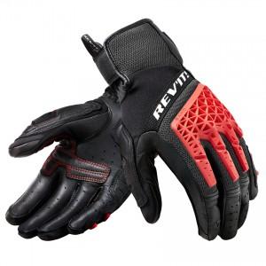 Γάντια RevIT Sand 4 καλοκαιρινά μαύρα-κόκκινα