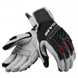 Γάντια RevIT Sand 4 καλοκαιρινά ανοιχτό γκρι-μαύρα