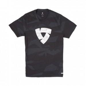 T-shirt RevIT Chester camo μαύρο-γκρι
