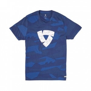 T-shirt RevIT Chester camo μπλε
