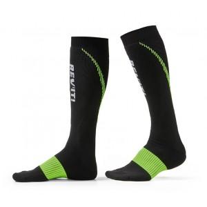Κάλτσες RevIT Trident μακριές μαύρες-κίτρινες