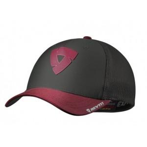 Καπέλο Rev'IT Newark γκρι-κόκκινο