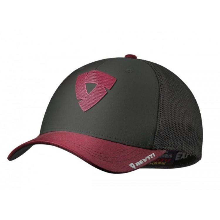 Καπέλο RevIT Newark γκρι-κόκκινο
