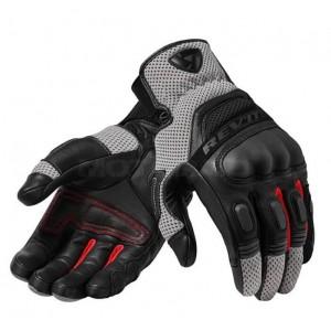 RevIT Dirt 3 καλοκαιρινά γάντια μαύρα - κόκκινα