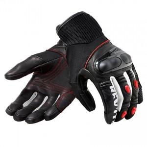 Γάντια RevIT Metric καλοκαιρινά μαύρα-neon κόκκινα