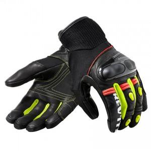Γάντια RevIT Metric καλοκαιρινά μαύρα-neon κίτρινα