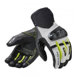 Γάντια RevIT Prime καλοκαιρινά λευκά-κίτρινα