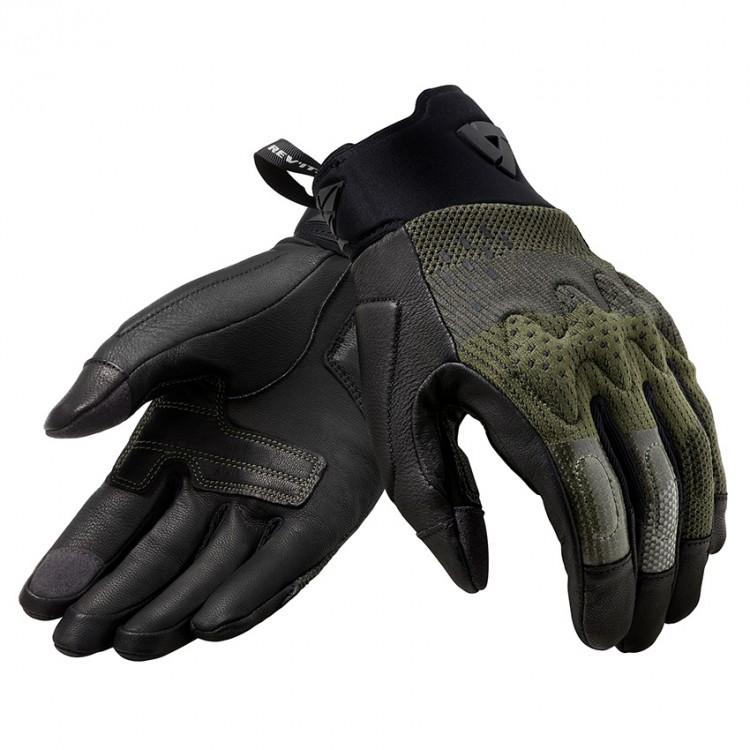 Γάντια RevIT Kinetic καλοκαιρινά μαύρο-καφέ