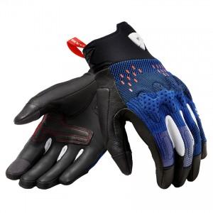 Γάντια RevIT Kinetic καλοκαιρινά μπλε-μαύρο