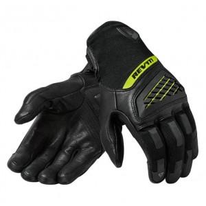 RevIT Neutron 3 καλοκαιρινά γάντια μαύρα - neon κίτρινο