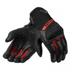 RevIT Striker 3 καλοκαιρινά γάντια μαύρα - κόκκινο