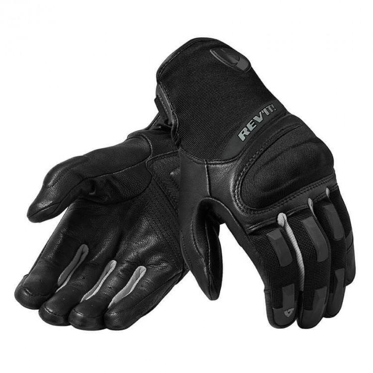 RevIT Striker 3 καλοκαιρινά γάντια ασημί - μαύρα